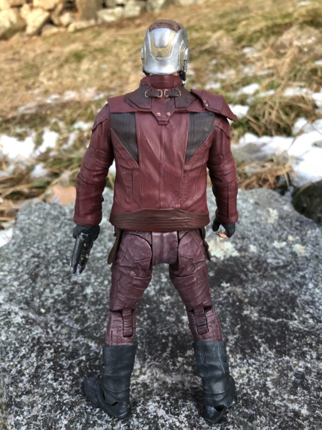 Back of DST Star-Lord Figure's Jacket