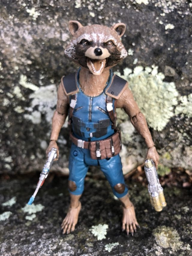 Review Marvel Select Rocket Raccoon Movie Figure
