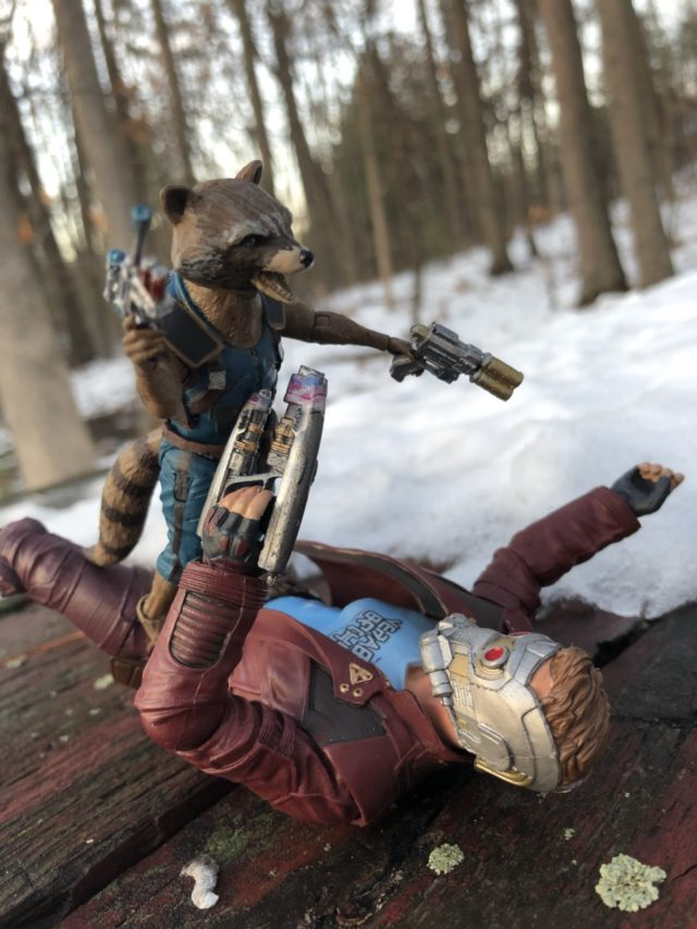 Review Marvel Select Starlord and Rocket Raccoon Figures