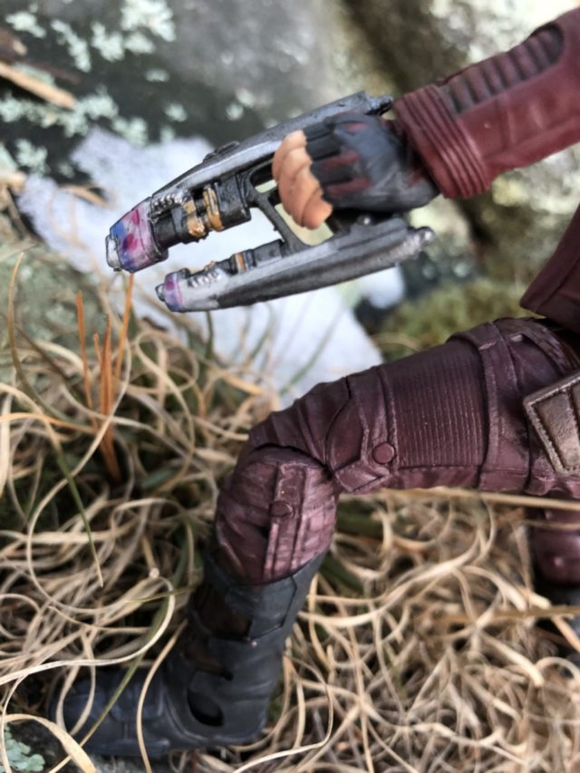 Detail on Star-Lord Select Figure Blaster