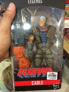 Marvel Legends 2018 Cable Figure Packaged