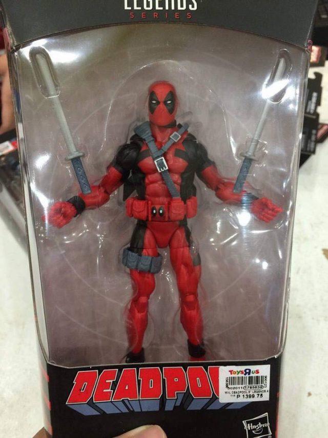 Marvel Legends 2018 Classic Deadpool Figure Packaged