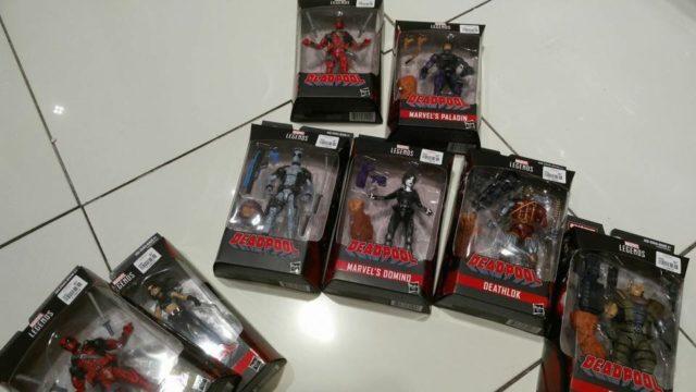 Marvel Legends Deadpool Series Figures Released