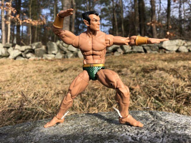 Namor Marvel Legends Figure Review Hasbro 2018