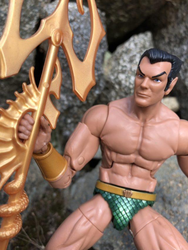 """Review Black Panther Marvel Legends Namor 6"""" Figure"""