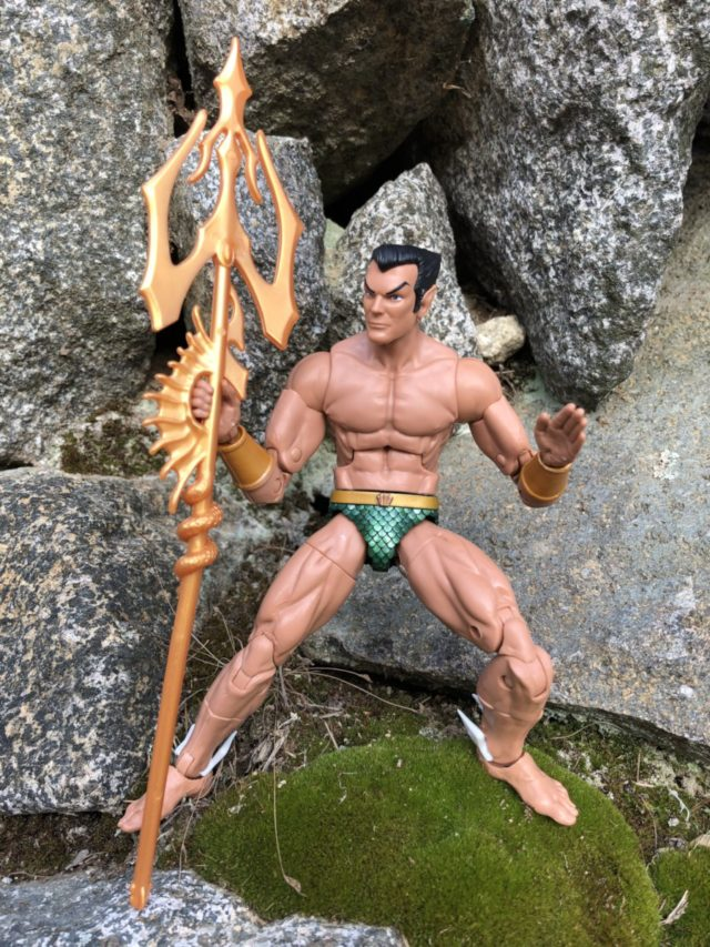 Marvel Legends Namor the Sub-Mariner Figure with Trident