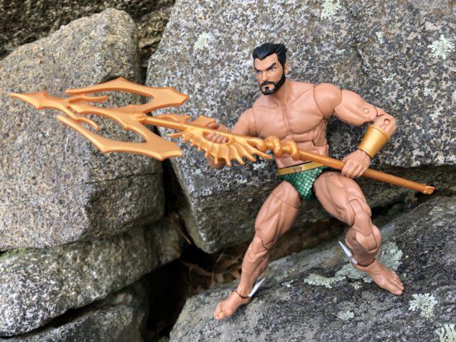 Hasbro Black Panther Movie Marvel Legends Namor 6 Inch Figure Review