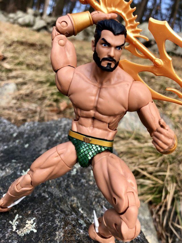Black Panther Marvel Legends Namor Bearded Head Figure