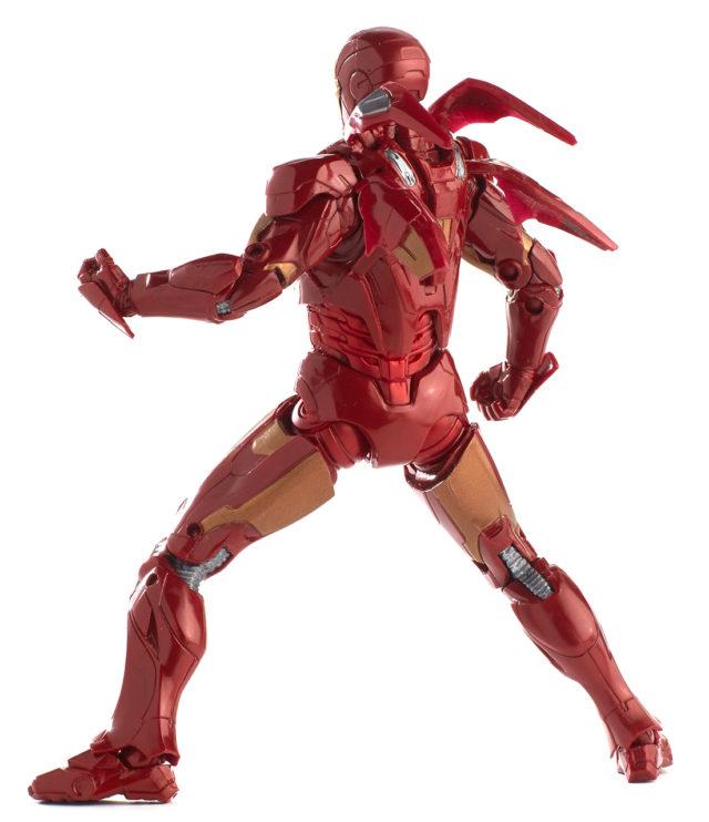 10 Years of Marvel Studios Marvel Legends Iron Man Mark VII Figure