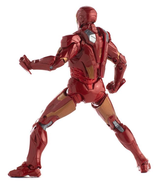 Back of Iron Man Mark VII Marvel Legends 2018 Figure