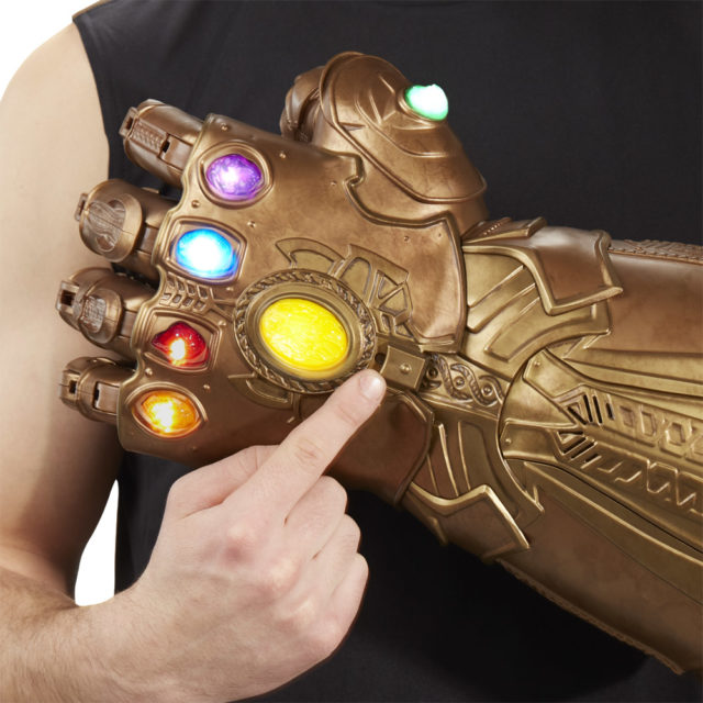 Close-Up of Marvel Legends Infinity Gauntlet Toy