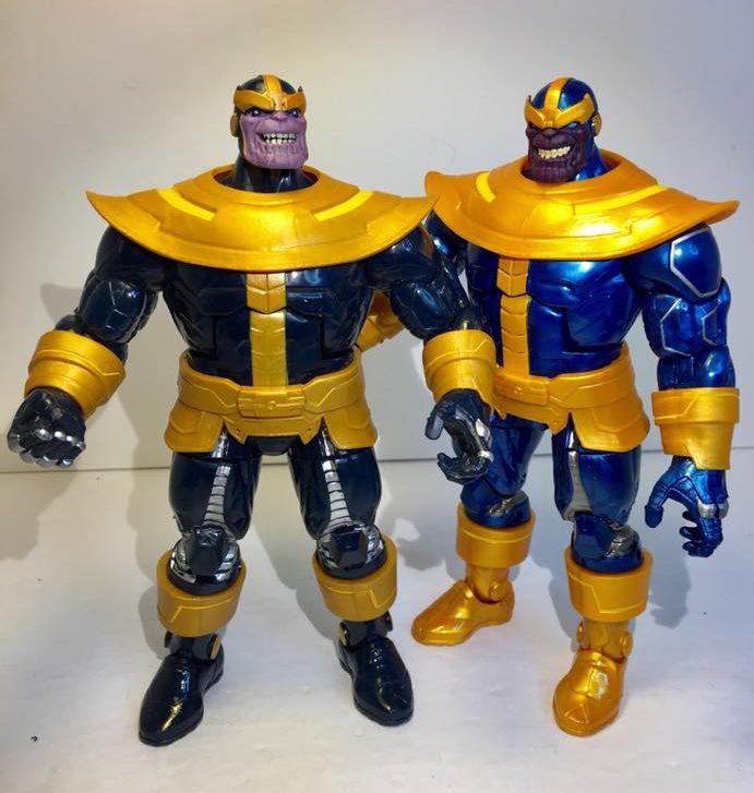 Walmart Exclusive Marvel Legends Thanos Action Figure Infinity Gauntlet