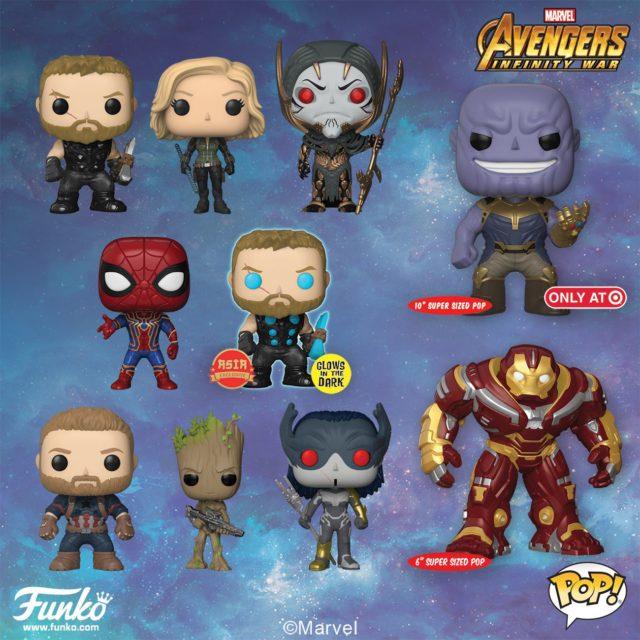 Funko Avengers Infinity War Pop Vinyls Up For Order