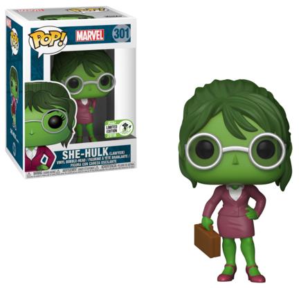 Funko POP Vinyls Lawyer She-Hulk Exclusive Figure