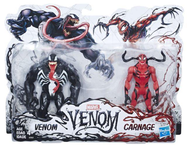 Hasbro Venom vs Carnage Two Pack 6 Inch Figures