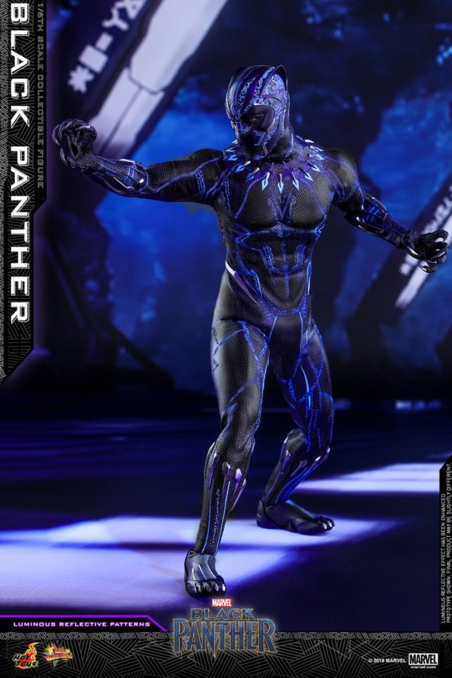 Hot Toys 12 Inch Black Panther MMS Movie Masterpiece Series Figure