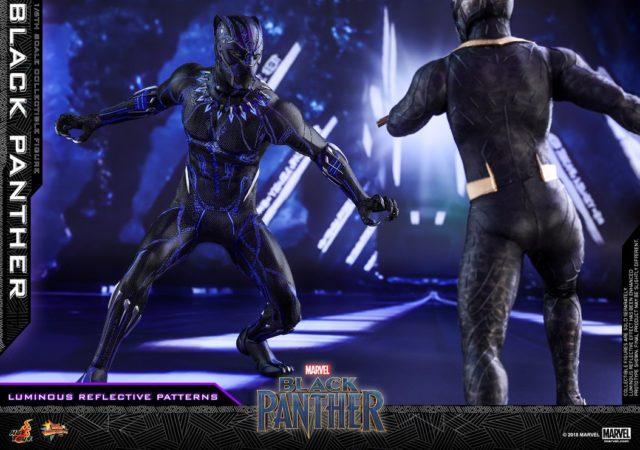 Hot Toys Killmonger vs Black Panther 12 Inch Figures