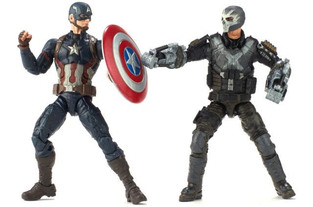 Marvel Studios Marvel Legends Crossbones and Captain America Two Pack