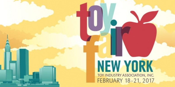 New York Toy Fair 2018 Logo