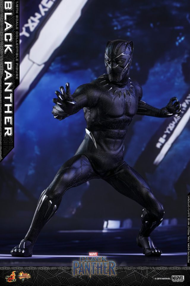 Proportions on New Black Panther Movie Hot Toys Figure