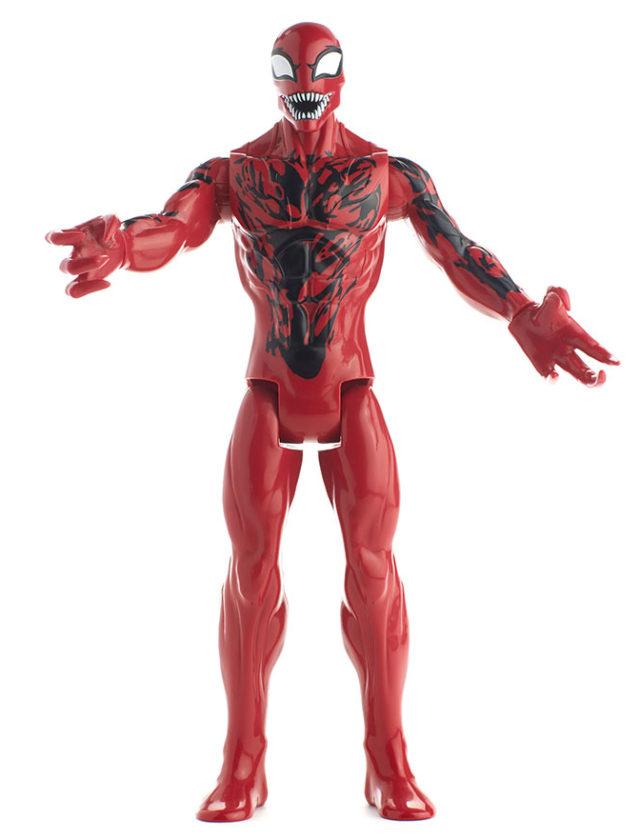 Titan Hero Carnage Figure Hasbro 12 Inch
