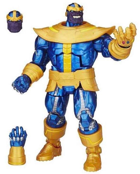 Walmart Marvel Legends Thanos with Infinity Gauntlet Exclusive Figure