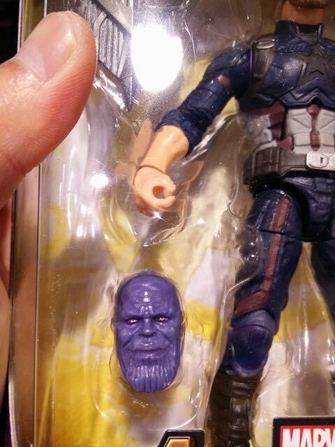Marvel Legends Infinity War Thanos Build-A-Figure Head