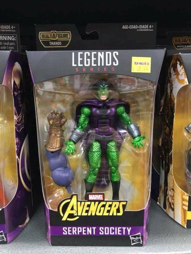 King Cobra Marvel Legends 2018 Figure in Box