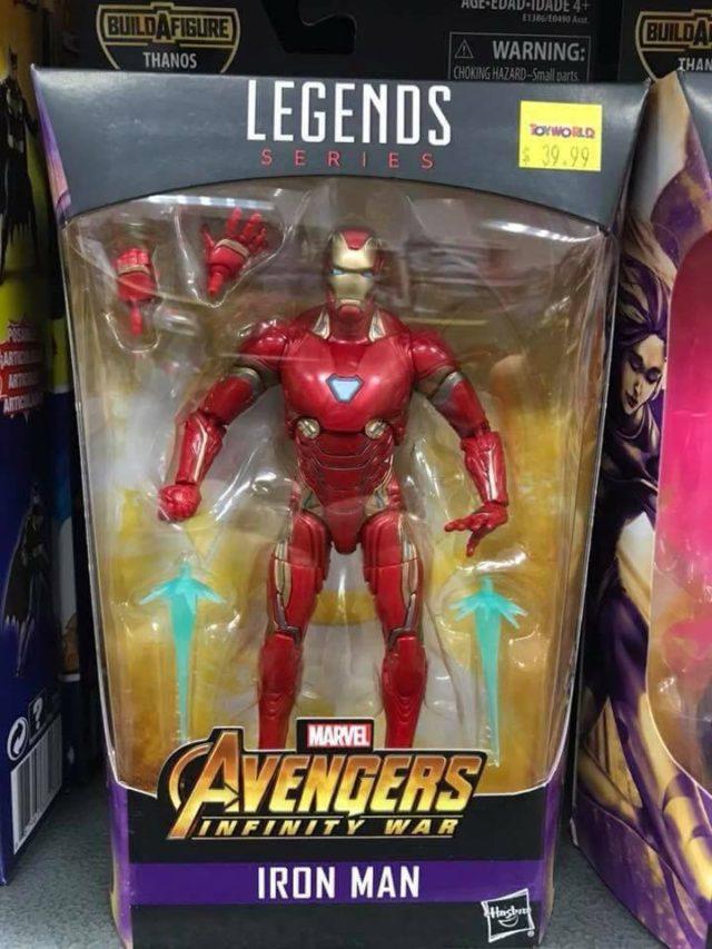 Marvel Legends Infinity War Iron Man Figure Released