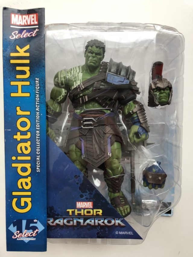 Marvel Select Gladiator Hulk Action Figure Review Packaged