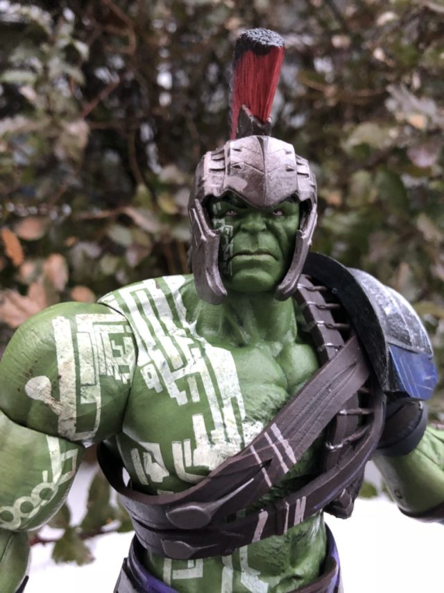 Paint Deco on DST Gladiator Hulk Thor Ragnarok Action Figure