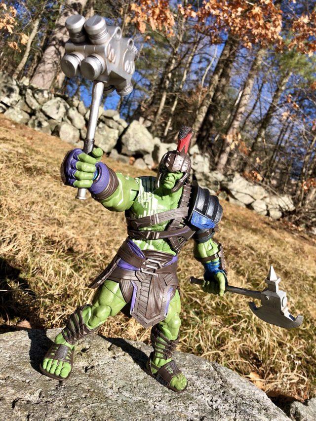 Marvel Select Thor Ragnarok Hulk Movie Figure Review