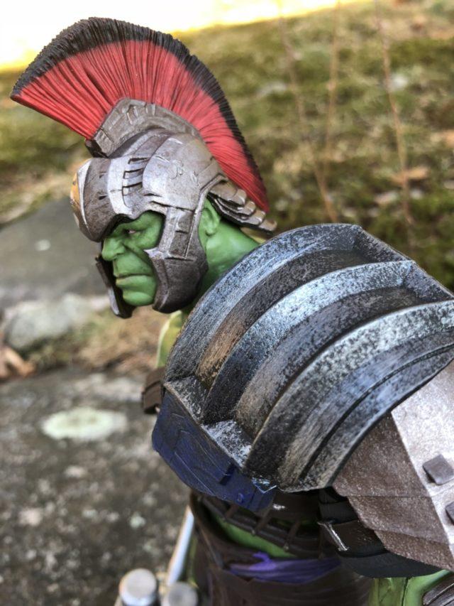 Marvel Select Thor Ragnarok Hulk Armor and Helmet Plume