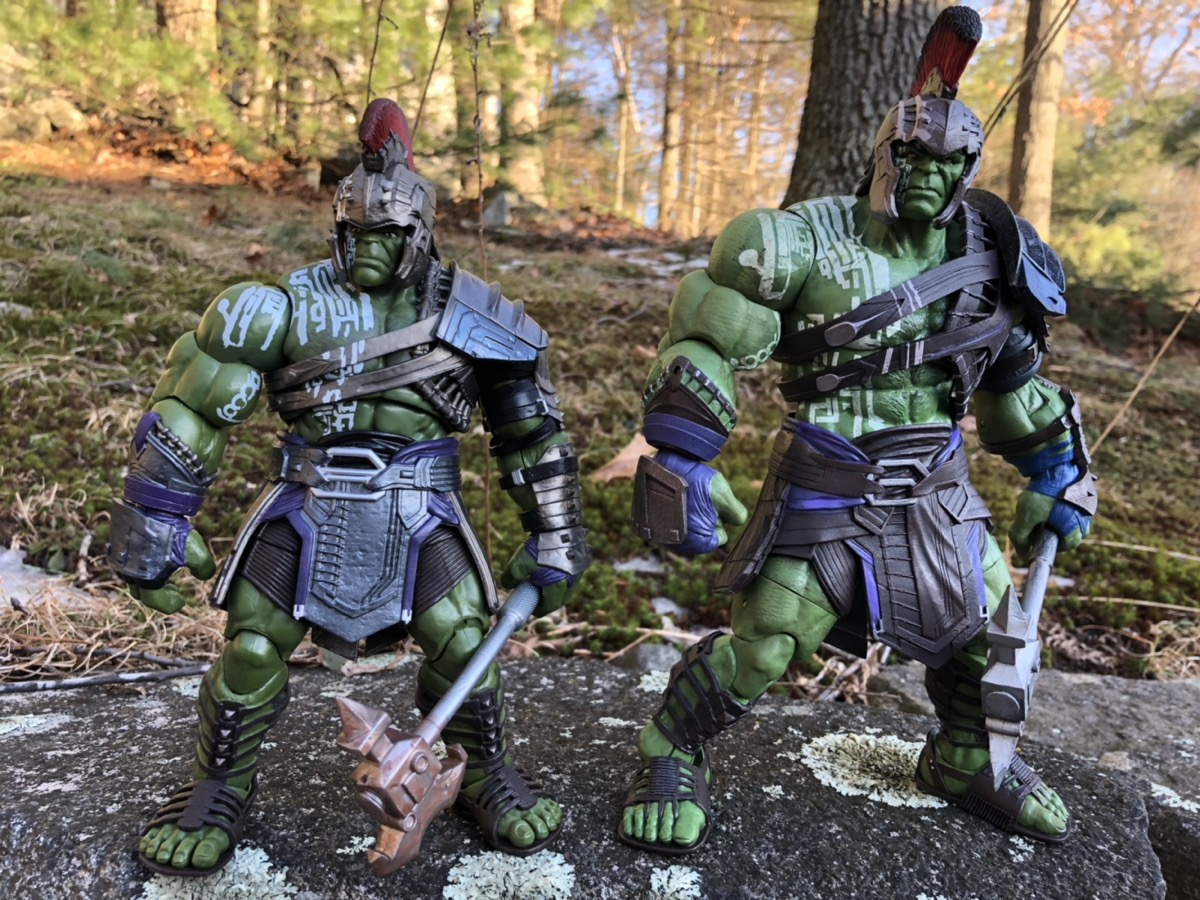 Review Marvel Select Gladiator Hulk Figure Thor Ragnarok Marvel Toy News