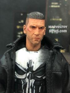 2018 Toy Fair Mezco Punisher Netflix Figure Close-Up