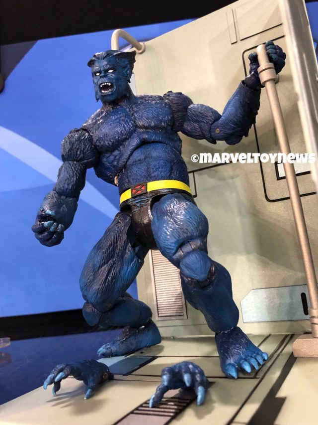 Side View of Beast Marvel Select Figure at 2018 Toy Fair