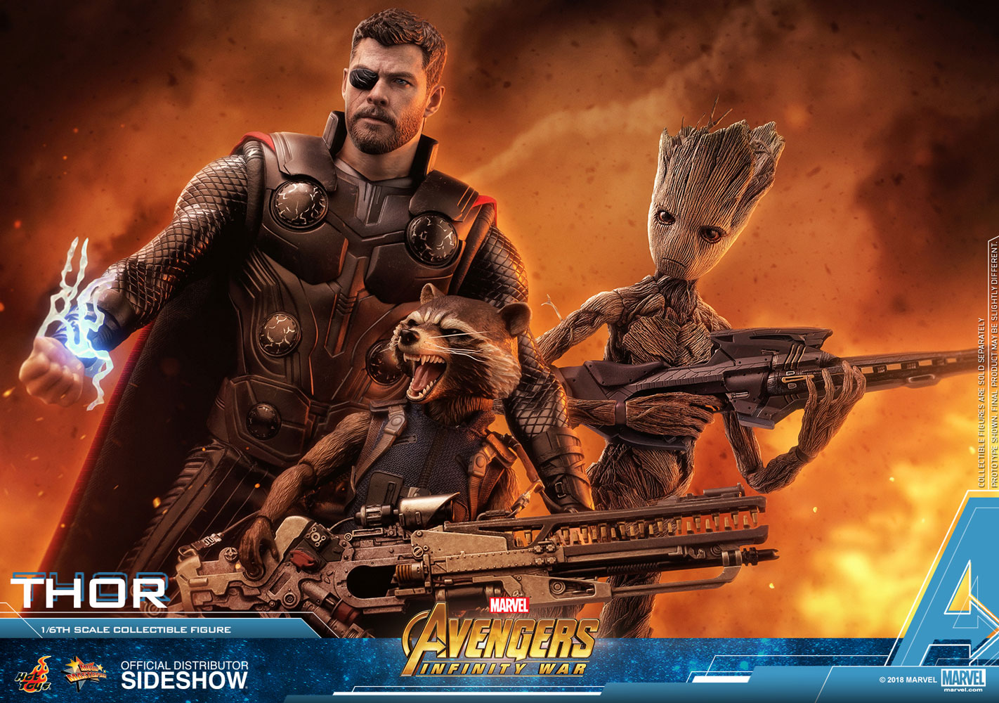 hot toys infinity war thor iron man 1 6 figures up for