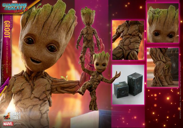 Hot Toys Life Size Baby Groot Figure Version 2