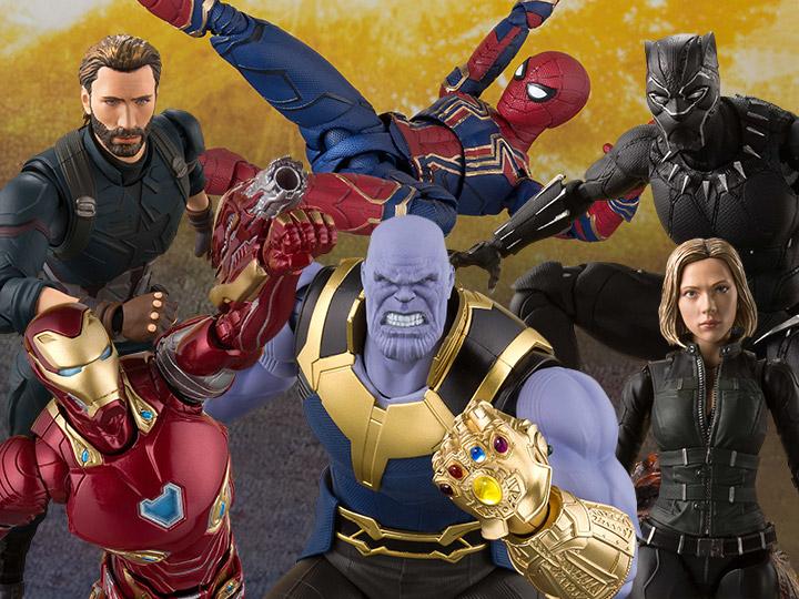 New Bandai S.H.Figuarts THANOS Avengers Infinity War Action Figure Marvel Japan