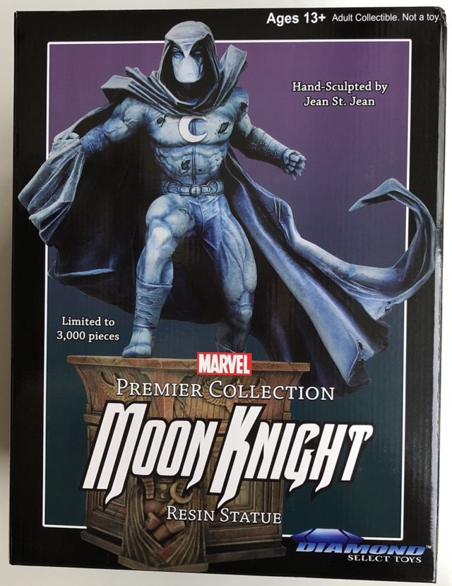 Marvel Premier Collection Moon Knight Statue Box Front