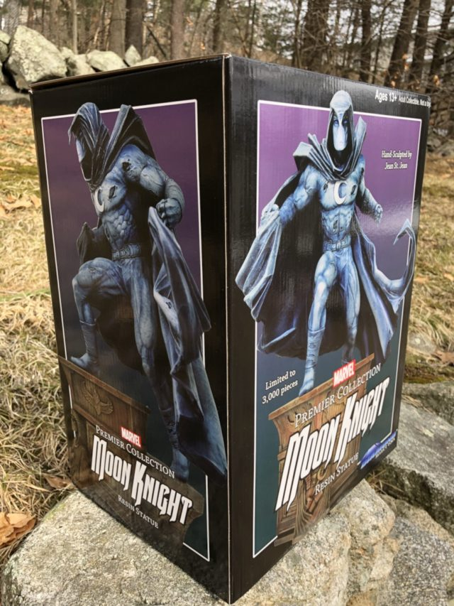 DST Moon Knight Premier Collection Statue Box