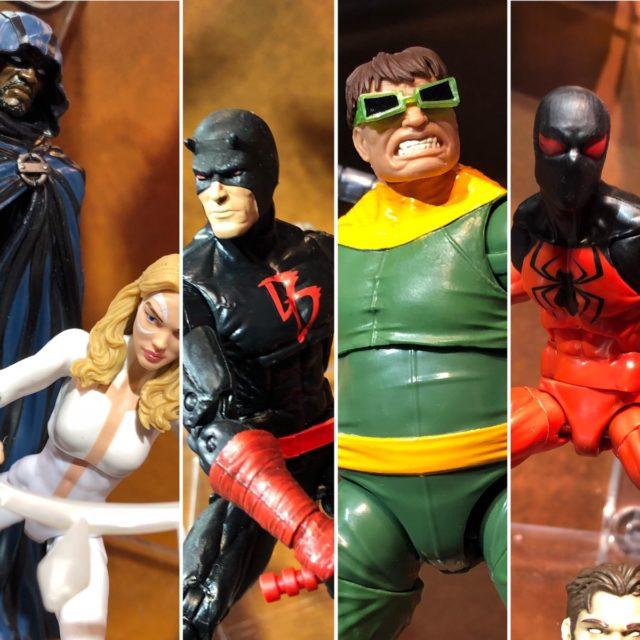 Toy Fair 2018 Marvel Legends SP//dr Series Photos