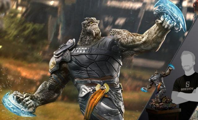 Avengers Infinity War Cull Obsidian Iron Studios Statue