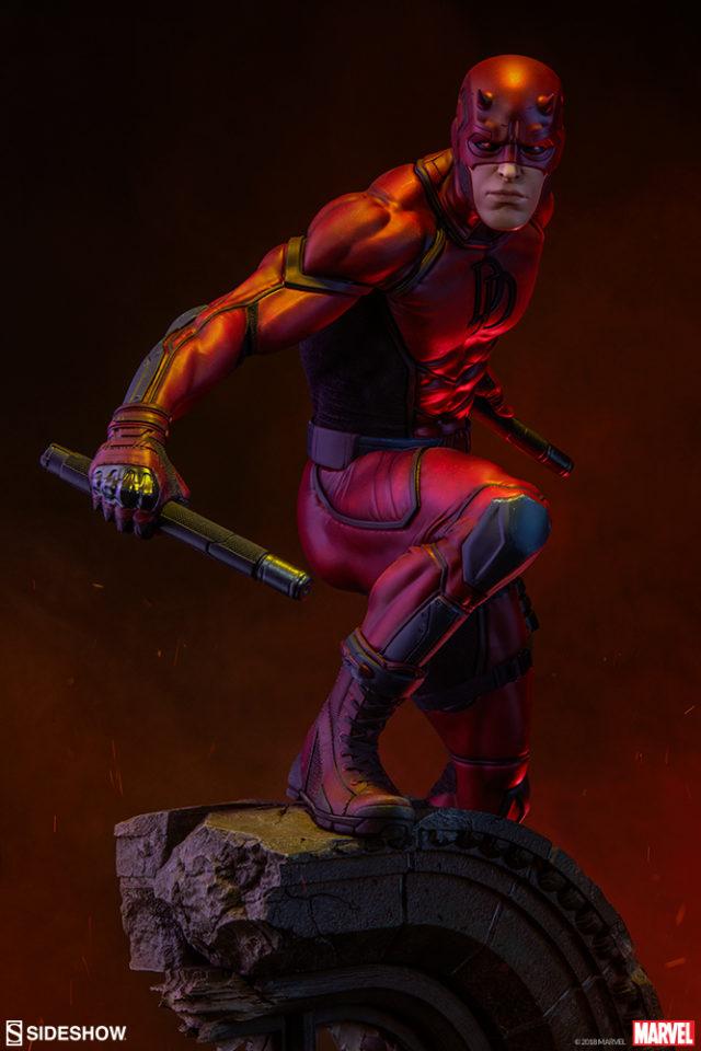 Daredevil Premium Format Statue 2018 Sideshow Collectibles