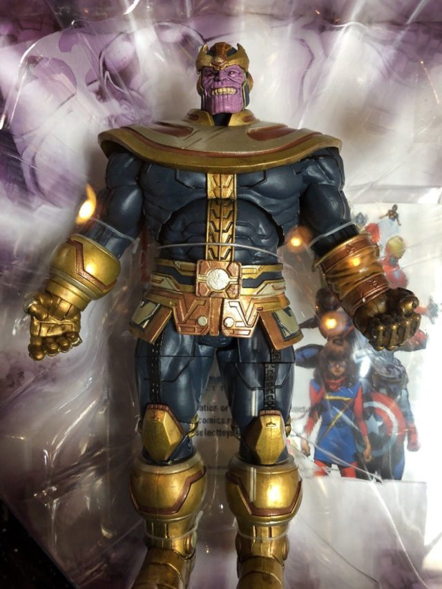 Disney Store Marvel Select Thanos Figure Packaged