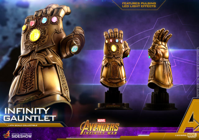 Hot Toys Infinity Gauntlet Quarter Scale Replica