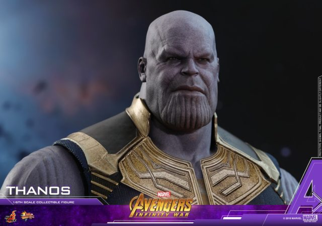 Hot Toys Thanos Infinity War Head Sculpt Close-Up Josh Brolin