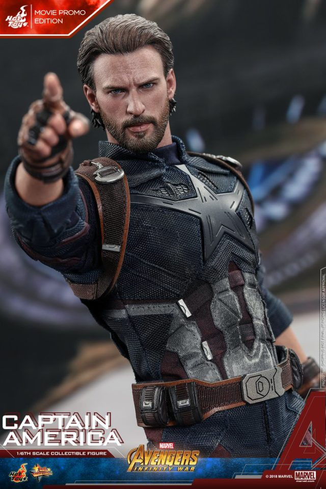 Infinity War Captain America Hot Toys Figure Movie Promo