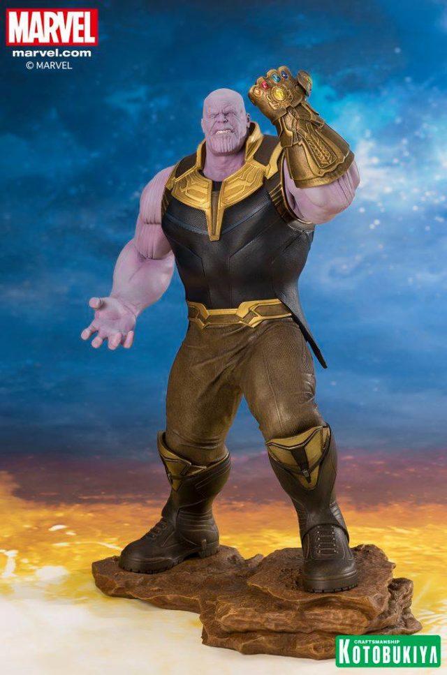Koto Avengers Infinity War Thanos Statue ARTFX PVC