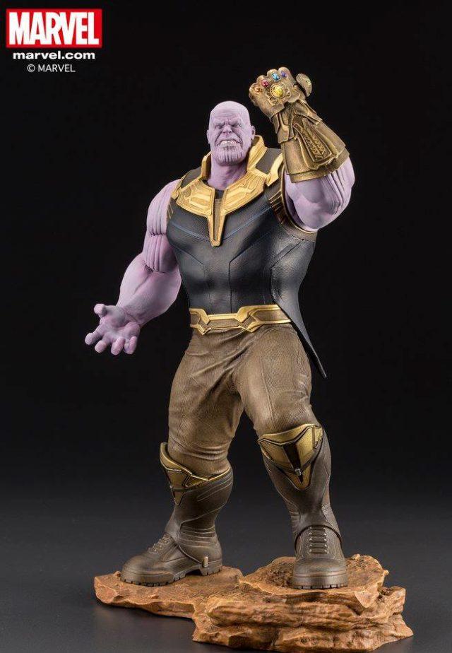 Kotobukiya Thanos ARTFX+ Statue Avengers Infinity War